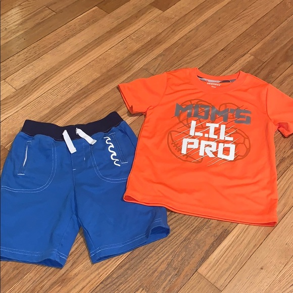 healthtex Other - Healthtex 4 Moms Pro Sports Top And Shorts Orange